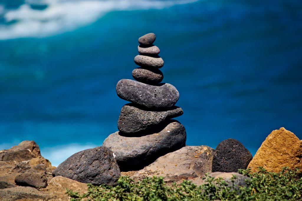 Zen-Stone Balance sharpens your sense of gewaarwording