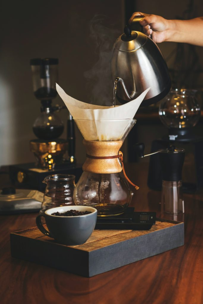 The humble coffee filter is the creation of Melitta Bentz