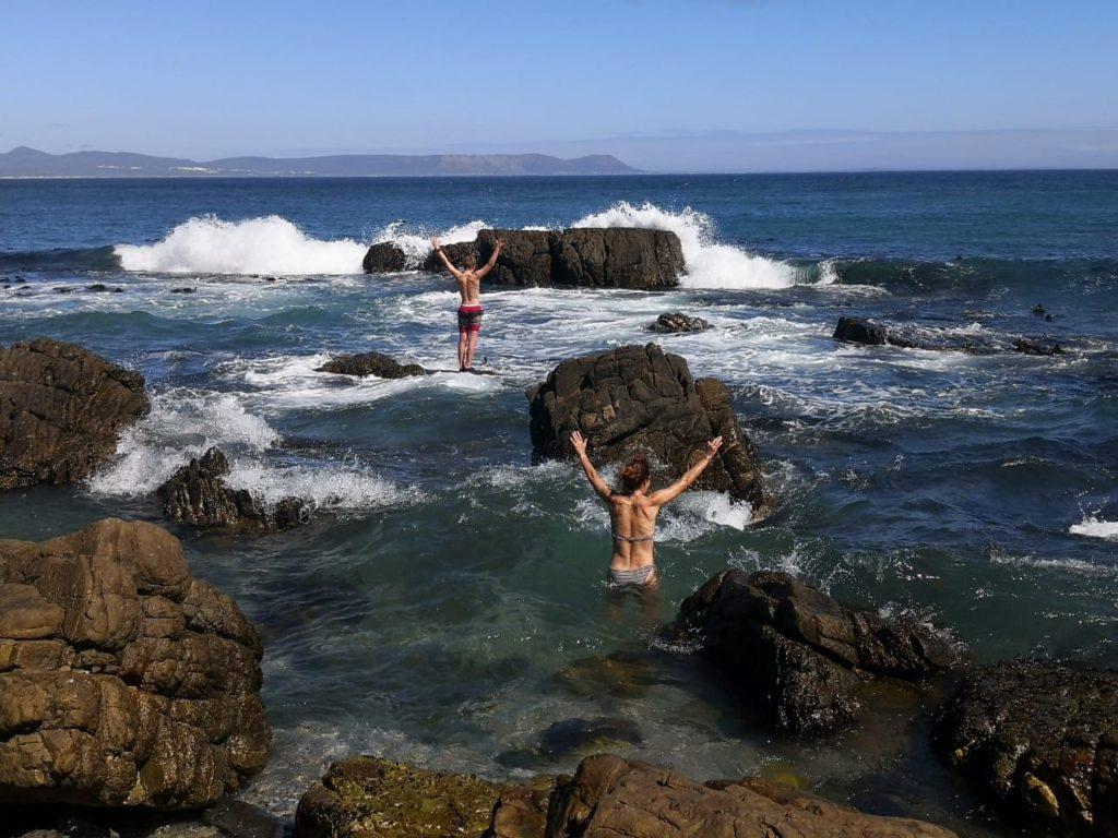 Ocean frollick