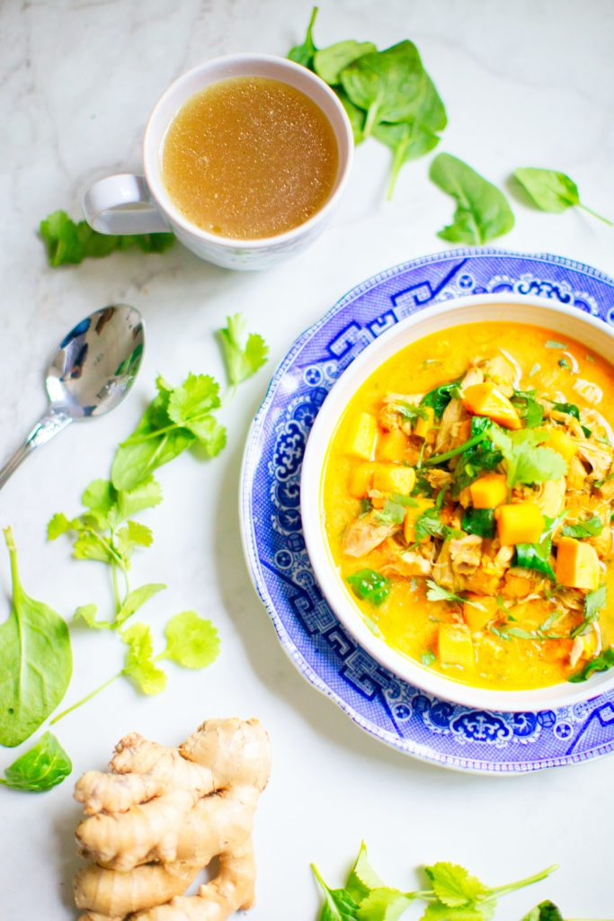 Turmeric spicy meal