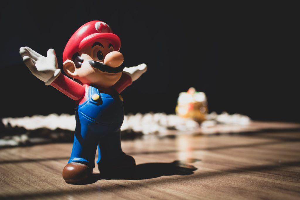 Mario Brothers cartoon - activity